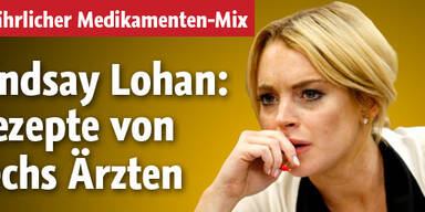 Lindsay Lohan: Rezepte von 6 Ärzten