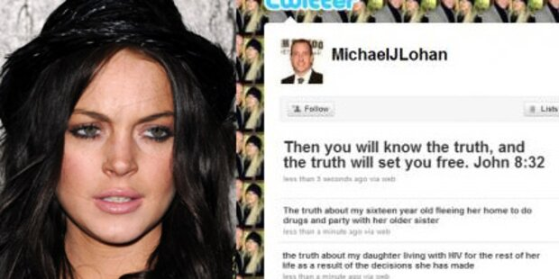 Lohan-Vater twittert: Sie hat HIV