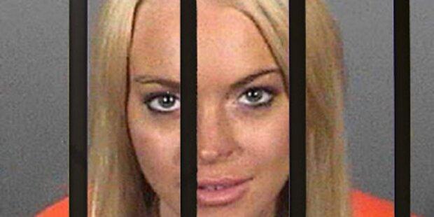 Gefangene sauer: Luxushaft für Lohan