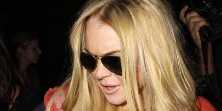 Lindsay Lohan Chanel Mode Alkohol-Kontroll-Band