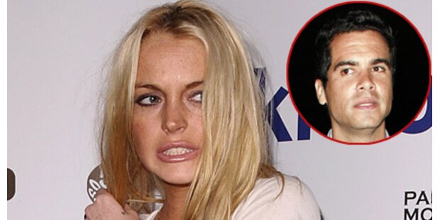 Lindsay knutscht mit Jessica Albas Mann