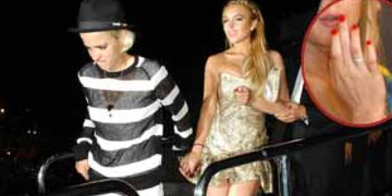 Lindsay Lohan & Samantha Ronson: Verlobt?