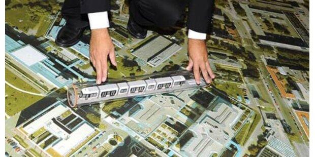 Startschuss für Linzer U-Bahn fällt