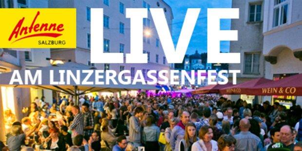 Das 38. Altstadtfest in der Linzer Gasse