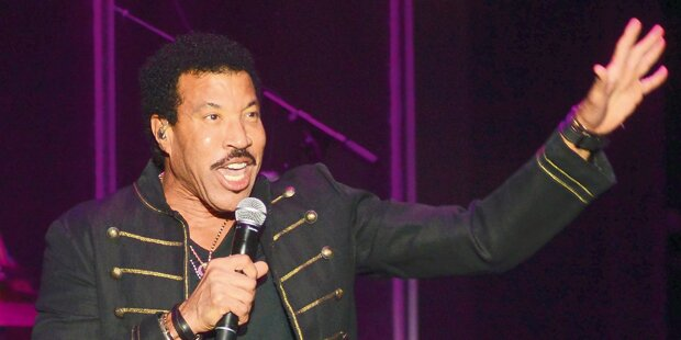 Lionel Richie sorgt für Party-Stimmung