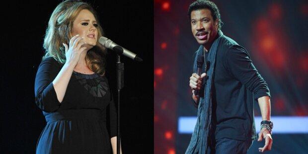 Alben-Charts: Lionel Richie enttrohnt Adele