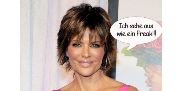 Beauty-Wahn: Lisa Rinna gefällt sich nicht mehr