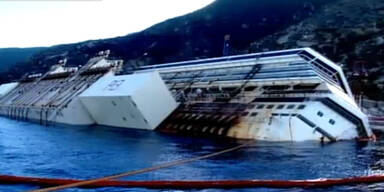 Die Bergung der Costa Concordia