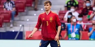 Diego Llorente im Einsatz für das spanische Nationalteam