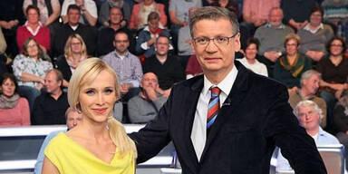 Lisa Loch und Günther Jauch