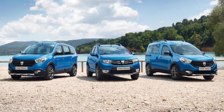 Dacia Lodgy und Dokker Stepway