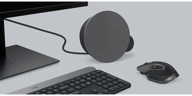 Logitech sorgt für Sound am Schreibtisch