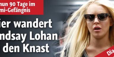 Hier geht Lindsay Lohan in den Häfen