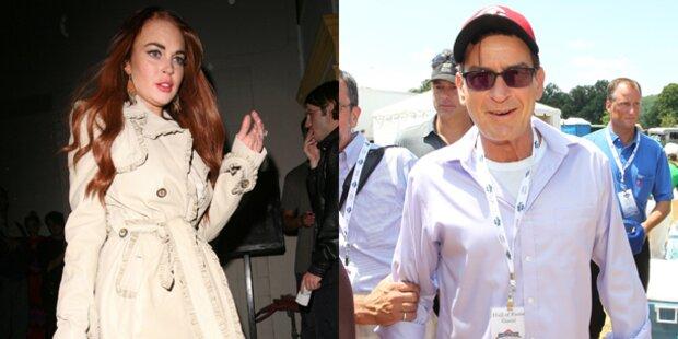 Charlie Sheen gibt Lindsay Lohan Gastrolle