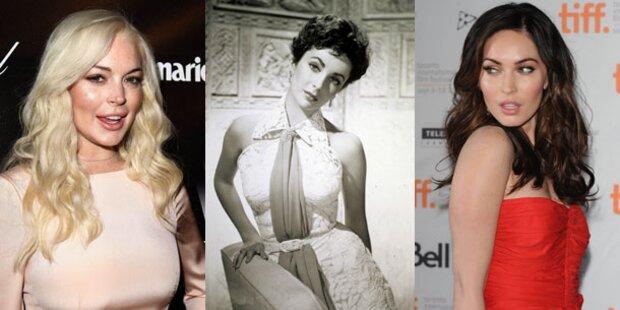 Lindsay Lohan könnte Liz Taylor spielen
