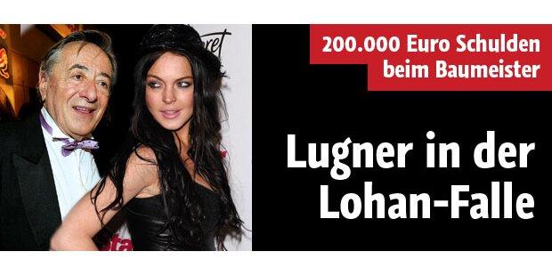 Richard Lugner in der Lohan-Falle