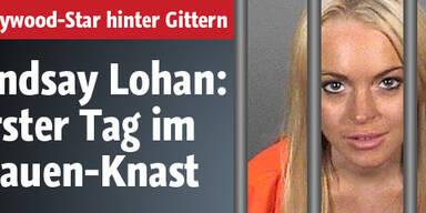 Lindsay Lohan: Das war ihr 1. Häfen-Tag