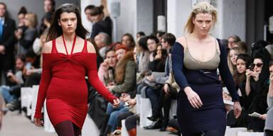 London Fashion Week: 'Aus' für Mager-Models - Mark Fast