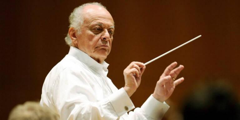 Maazel sagt zwei Konzerte in Wien ab