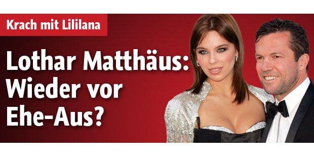 Lothar Matthäus: Wieder vor Ehe-Aus?