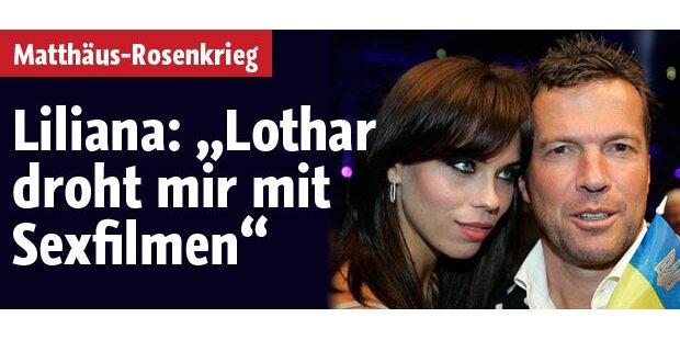 Liliana: Lothar droht mir mit Sexfilmen