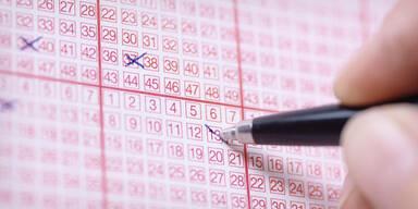 Lotto 6 aus 45 Fünffach-Jackpot