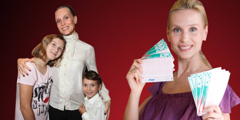 Lottofee Karin Klippl mit Baby-Jackpot