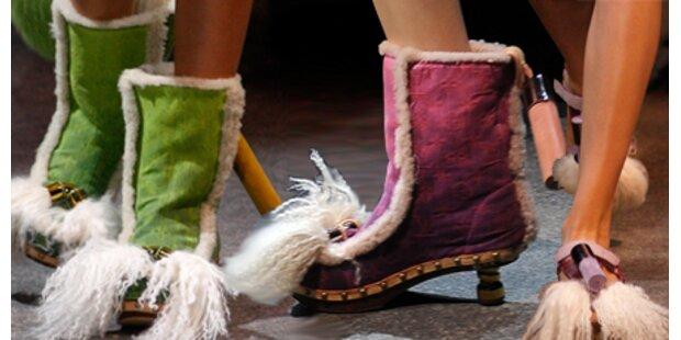 Schräg: Wer soll diese Schuhe tragen?