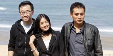 Lu Chuan (li.) und seine Hauptdarsteller