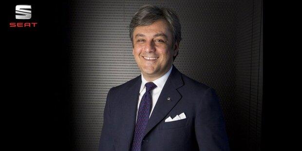 Seat-Chef Luca de Meo ist Eurostar 2017