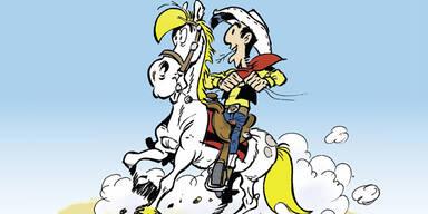 Neues aus dem Wilden Westen: Lucky Luke im Karikaturmuseum Krems
