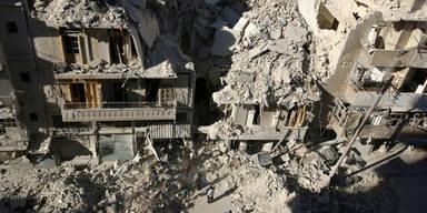 Luftangriff Syrien