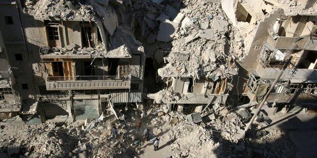 Waffenruhe in ganz Syrien ab Mitternacht
