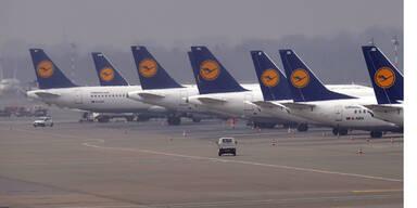 Warnstreik bei Lufthansa