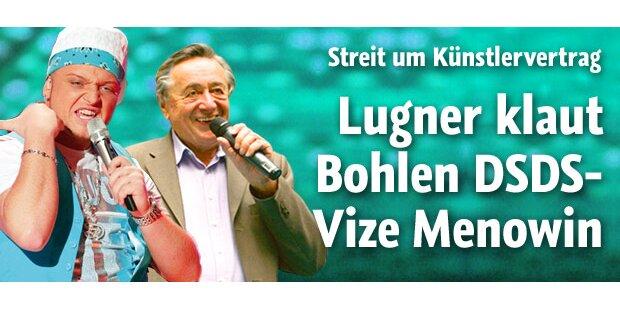 Lugner klaut Bohlen DSDS-Vize Menowin