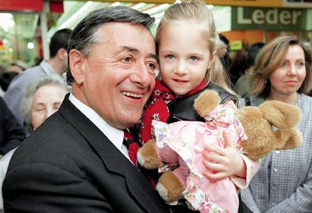 Richard Mörtel Lugner und Tochter Jacqueline