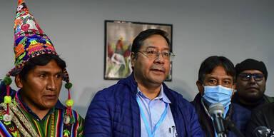 Linksgerichteter Arce bei Präsidentschaftswahl in Bolivien vorne