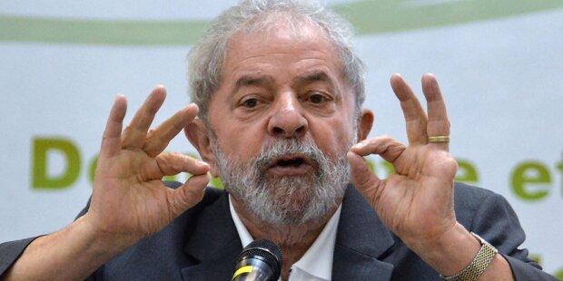 Ex-Präsident Lula muss wegen Korruption vor Gericht