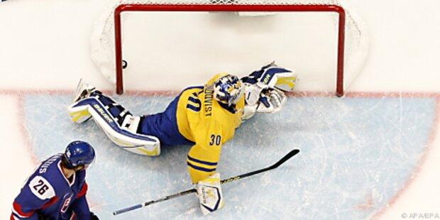 Kanada und Slowakei im Eishockey-Halbfinale