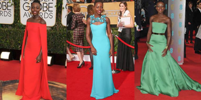 Lupita Nyong'o wird zum Mode-Shootingstar