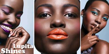 Lupita Nyong'o zeigt Make-Up-Trends