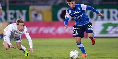 FC Lustenau nach Heimsieg Tabellenachter