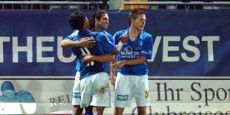 Lustenau-Derby endet 2:2