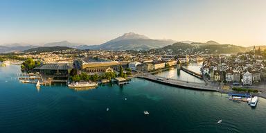 Luzern aus der Luft