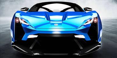 Neuer Supersportler ist fast 400 km/h schnell