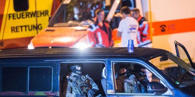 Amokläufer erschoss sich vor den Augen der Polizisten