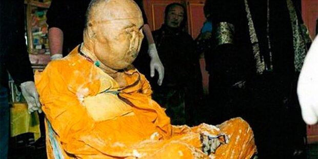 Rätsel um Mönchs-Mumie: Ist der Mann doch nicht tot?