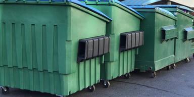 Schlafender Bub stirbt bei Müllcontainer-Leerung