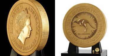 Kunsthistorisches Museum zeigt größte Goldmünze der Welt