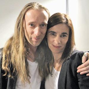 MADONNA Redakteurin Karin Serwatka mit John Richmond